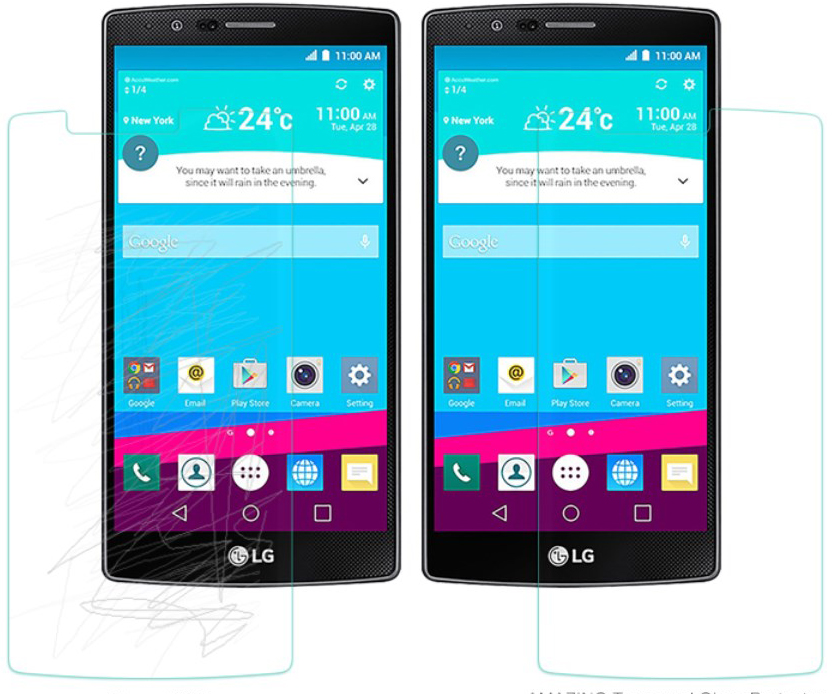 Nillkin Tempered Glass Screen Protector LG G4