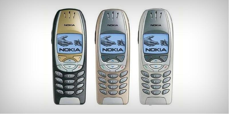 De mobiele telefoons van vroegen