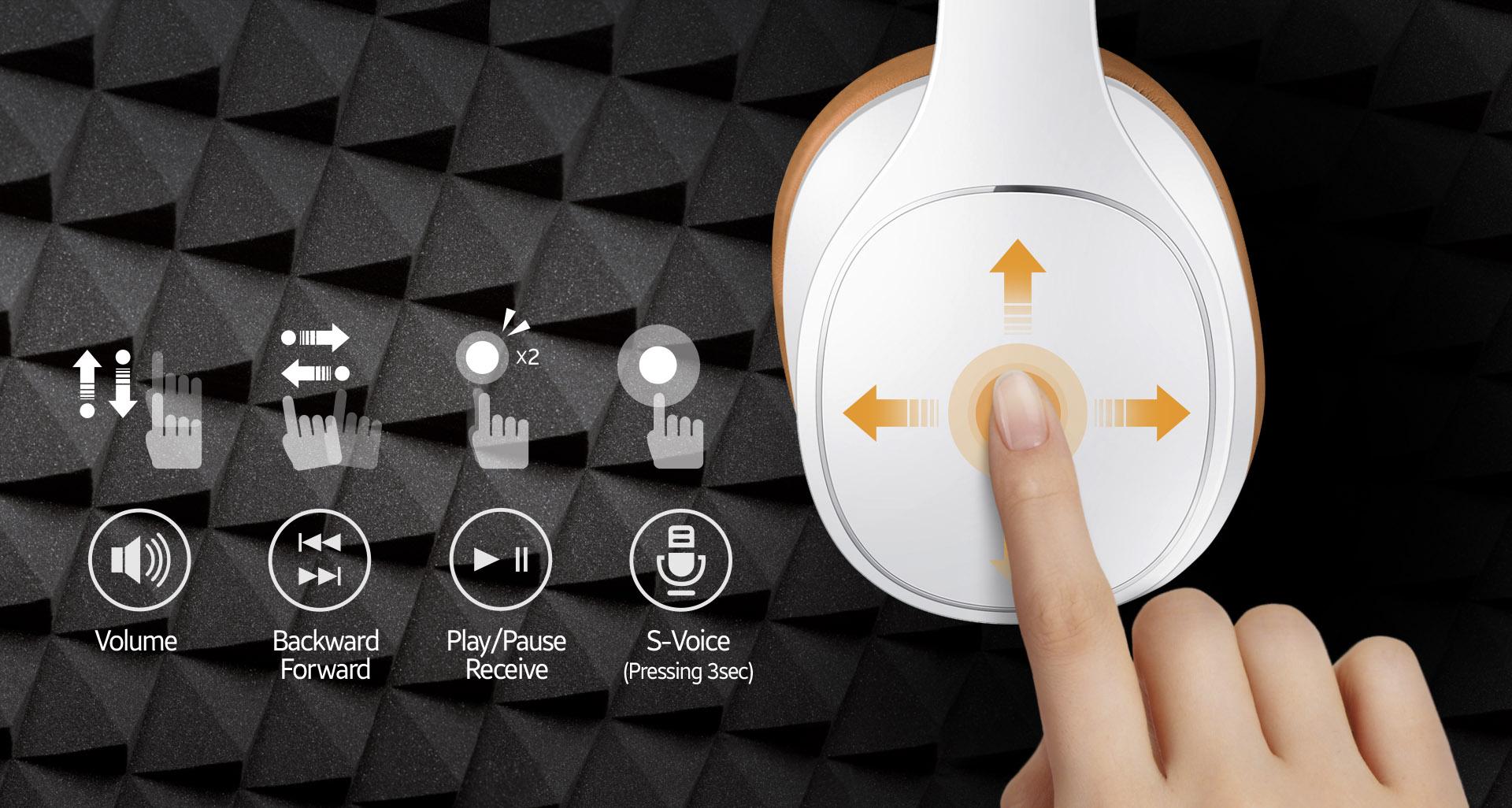 Samsung Level Over Headphone EO-AG900BSEGWW