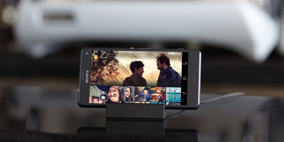 Magnetic charging dock DK48 For Xperia Z3 and Xperia Z3 Compact