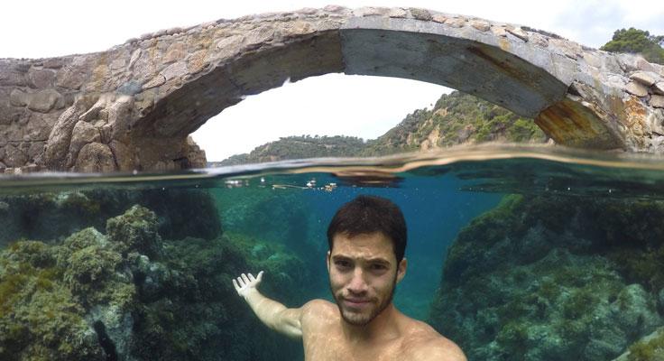 Onderwater hoesje