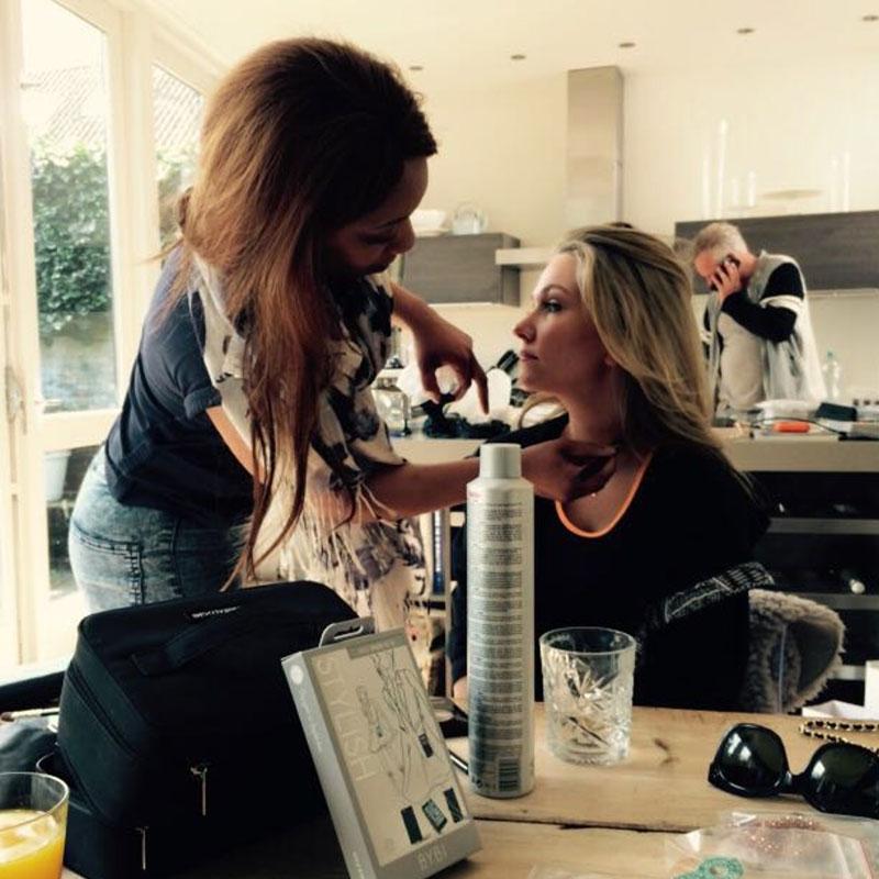 Make-Up Artist Clarissa Berner en Fotografie Rijk de Gooijer