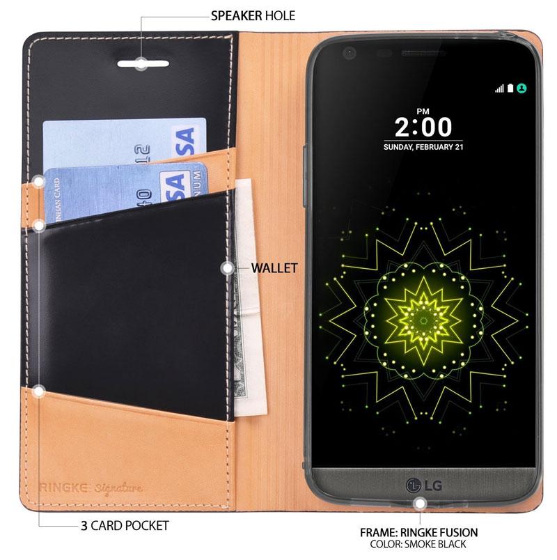 Specificaties Ringke Signature Flip beste LG G5 hoesje
