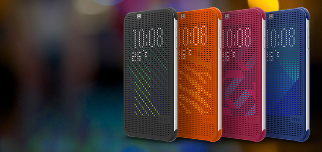 htc dot view flip case hoesje