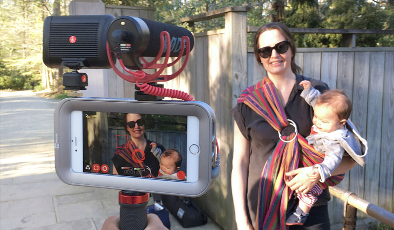 Helium Camera Case voor iPhone