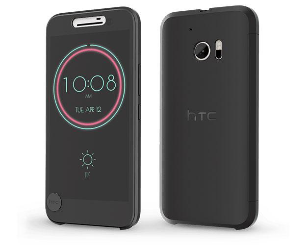 De originele HTC 10 Ice View Cover