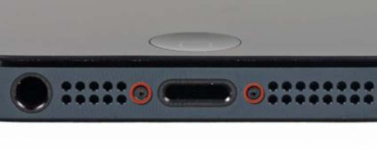iPhone 5 batterij vervangen stap 1