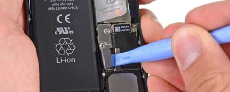 iPhone 5 batterij vervangen stap 10