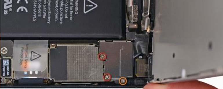 iPhone 5 batterij vervangen stap 6