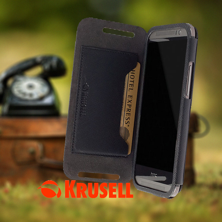 HTC One M8 Krusell Malmo hoesje