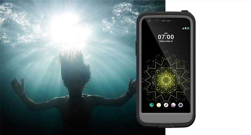 Waterdicht LG G5 hoesje LifeProof Fre