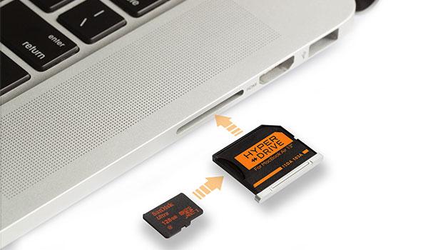 micro sd mac
