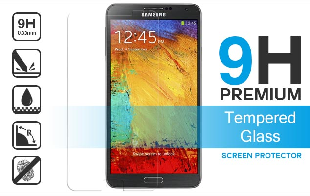 Samsung Note 3 n9005 tempered glass