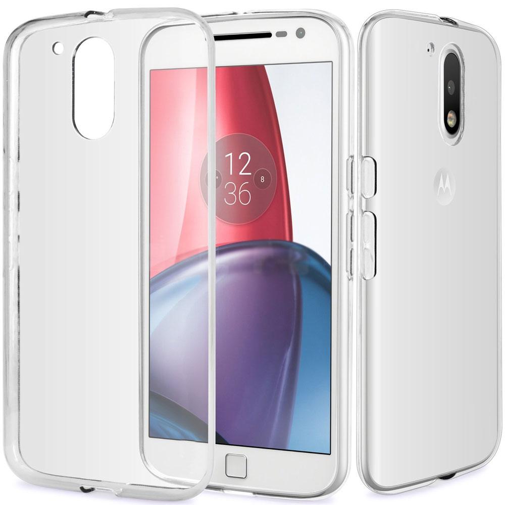 transparant Motorola Moto G4 hoesje