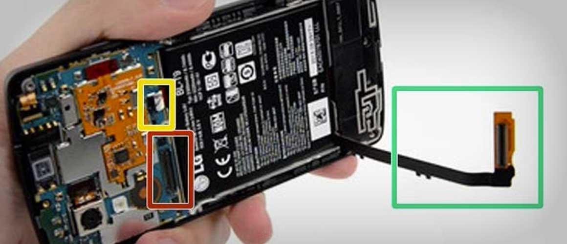 Nexus 5 batterij vervangen stap 3