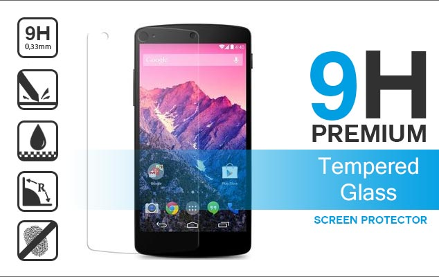 nexus 5 premium tempered glass