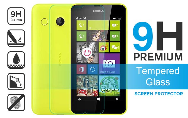 nokia lumia 635 630 tempered glass