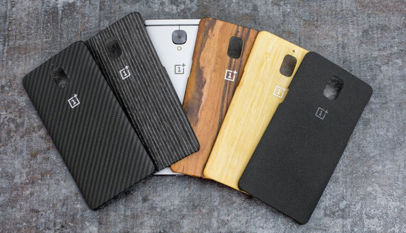 alle originele OnePlus 3 backcoverst