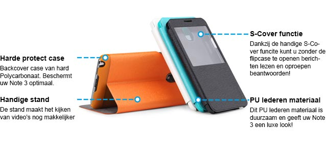 Rock Excel Flip Case Samsung Galaxy Note 3 Specs