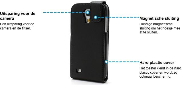 Galaxy s4 mini flipcase