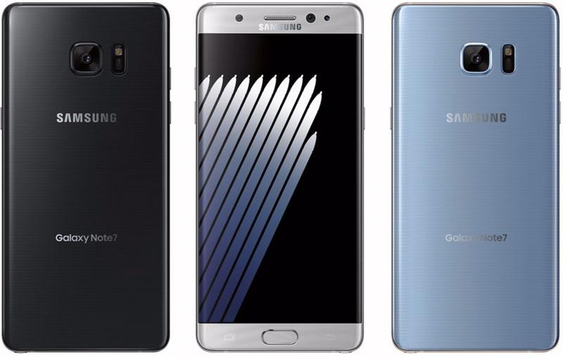 Samsung Galaxy Note 7 Nederland