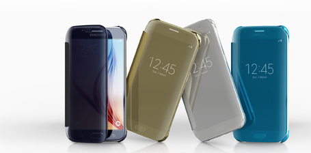 Alle Samsung Galaxy S6 Clear Cover varianten
