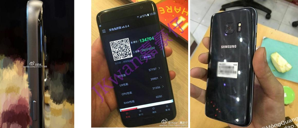 Gelekte Samsung Galaxy S7 afbeelding
