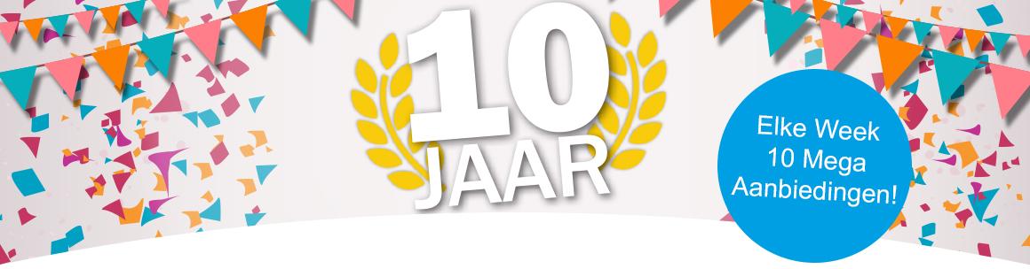 10 Jaar GSMpunt Banner